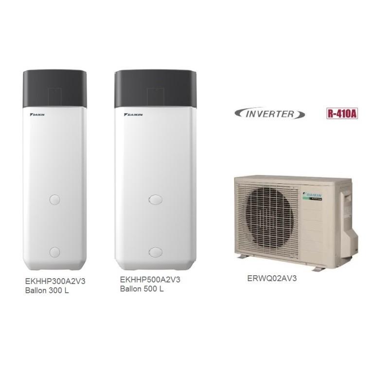 Daikin EKHHP300A2V3 / ERWQ02AV3 Αντλία Θερμότητας Ζ.Ν.Χ