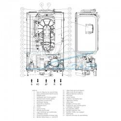 Λέβητας Immergas Victrix EXA 28 ErP Συμπύκνωσης Αερίου