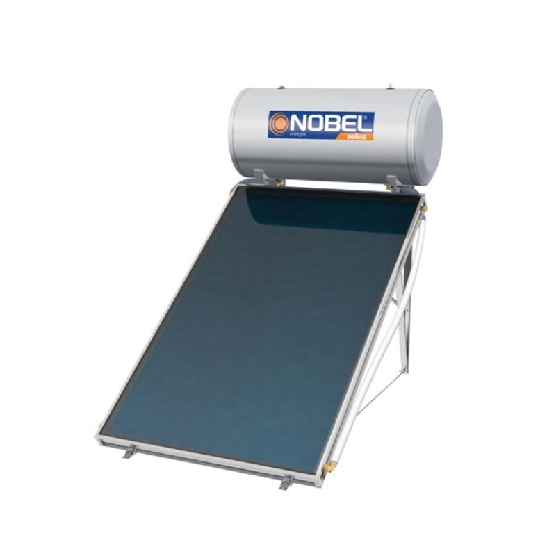 Nobel Aelios 120/2m2 (ALS) Glass Διπλής Ενεργείας Ηλιακός θερμοσίφωνας