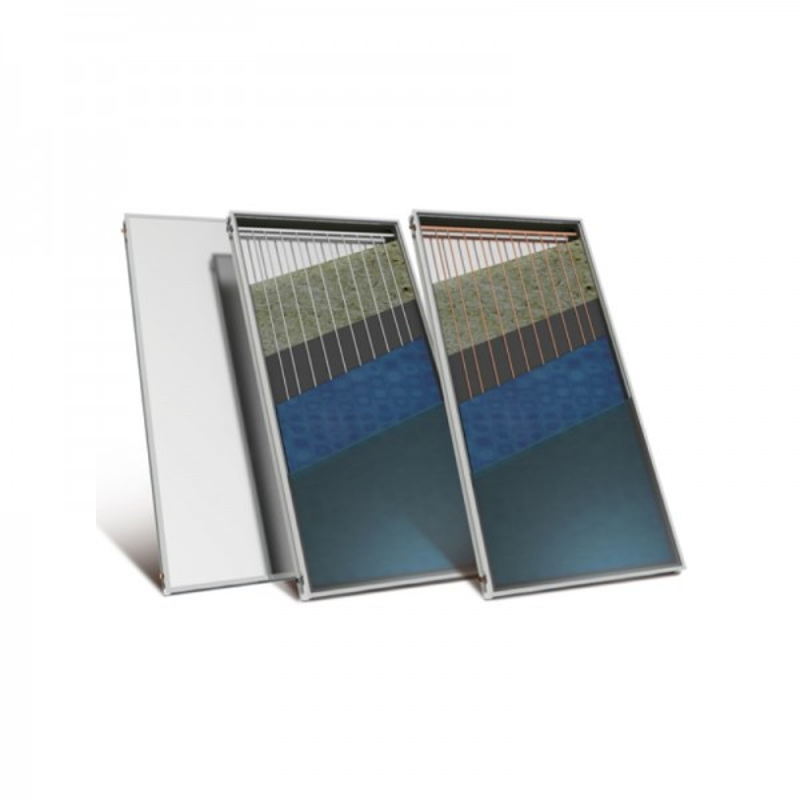 Nobel Aelios 160/3m2 (CUS) Glass Διπλής Ενεργείας Ηλιακός θερμοσίφωνας