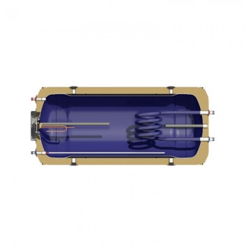 Nobel Aelios 200/4m2 (CUS) Glass Διπλής Ενεργείας Ηλιακός θερμοσίφωνας