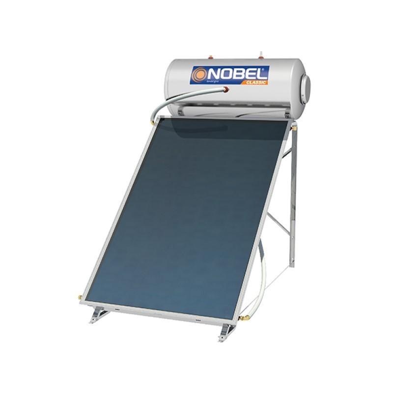 Nobel Classic 200/2,6m2 Inox Τριπλής Ενεργείας Ηλιακός θερμοσίφωνας