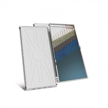Nobel Classic 160/3m2 Inox Διπλής Ενεργείας Κεραμοσκεπής Ηλιακός θερμοσίφωνας