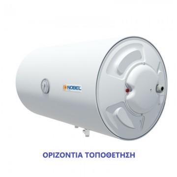 Nobel 120lt Οριζόντιος Με Αντίσταση Δεξιά Ηλεκτρικός Θερμοσίφωνας