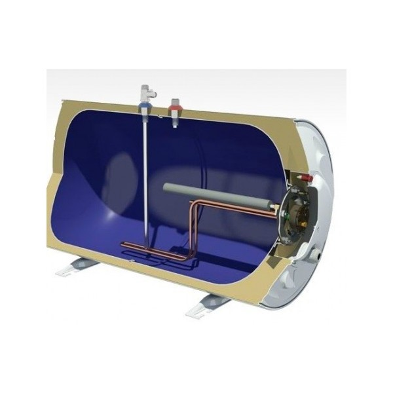 Nobel 120lt Δαπέδου με Διάμετρο 36εκ Ηλεκτρικός Θερμοσίφωνας