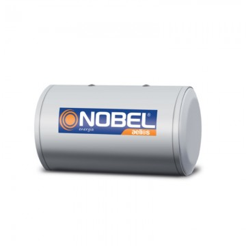 Nobel Aelios 160lt Glass Διπλής Ενεργείας Μπόιλερ Ηλιακού