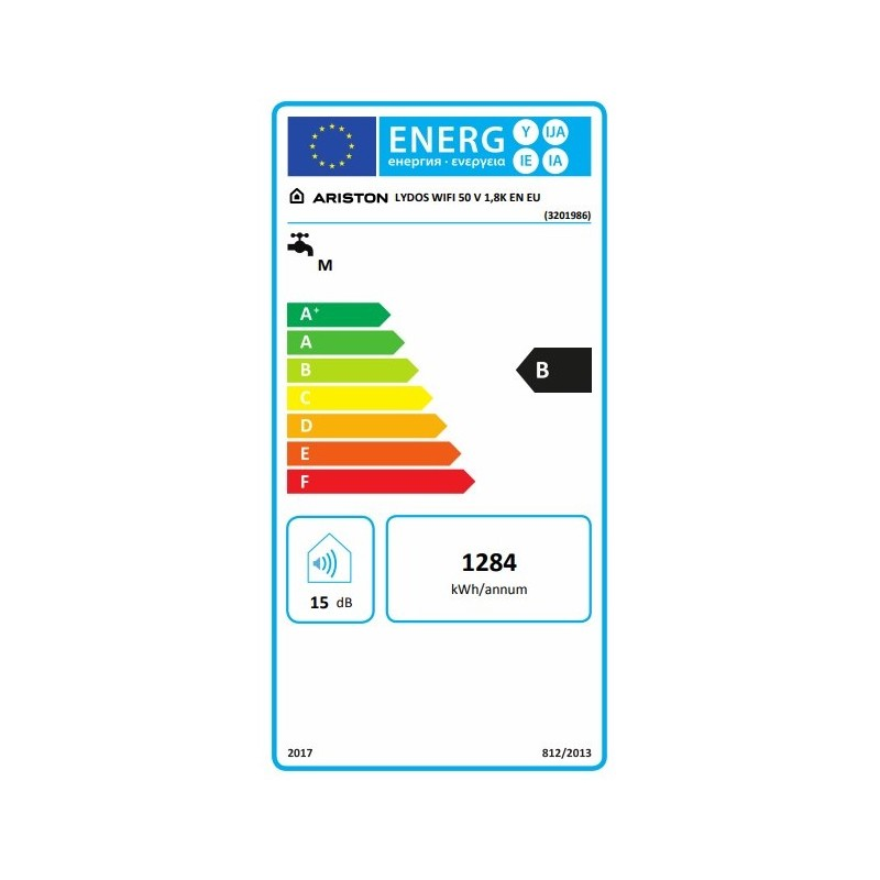 Ariston Lydos WiFi 50 Ηλεκτρικός θερμοσίφωνας
