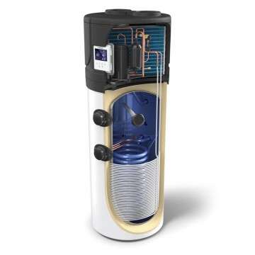 Tesy AquaThermica 200S (HPWH 2.1 200 U 02 S) Αντλία θερμότητας Ζ.Ν.Χ